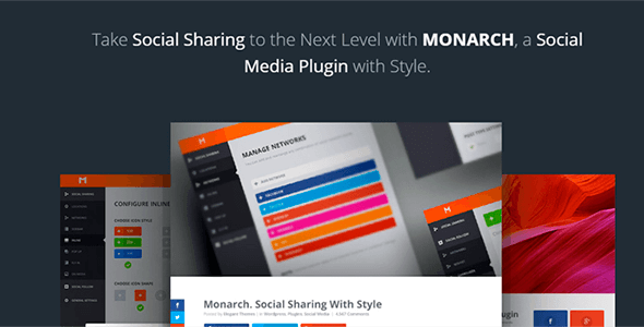 Download Monarch v1.4.13 - A Better Social Sharing WP Plugin Free / Nulled