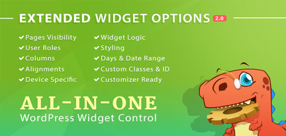 Download Extended Widget Options v4.6.4 Free / Nulled