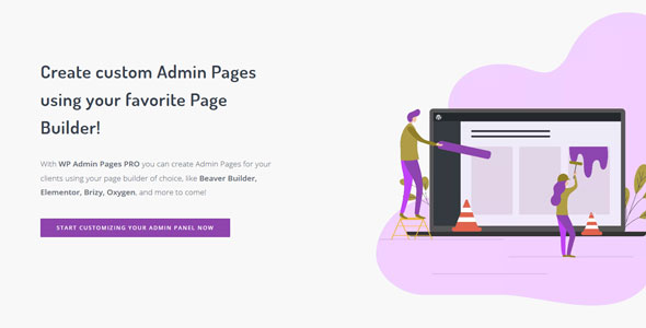 Download WP Admin Pages PRO v1.8.1 Free / Nulled