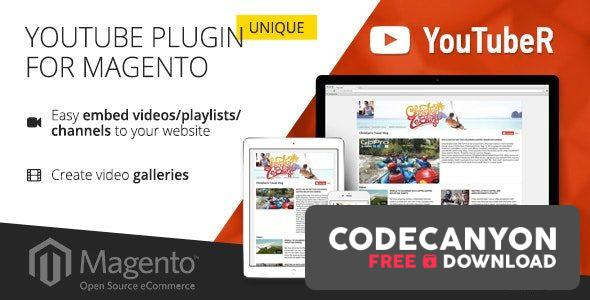 Download YouTubeR v2.0.4 – unique YouTube video gallery for Magento Free / Nulled
