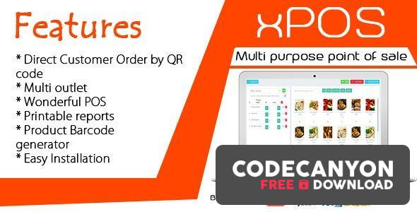 Download xPOS v1.0 – Multi purpose Point of Sale in PHP Free / Nulled