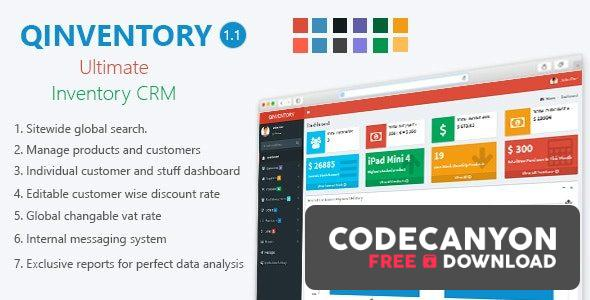 Download Qinventory CRM v1.2 Free / Nulled