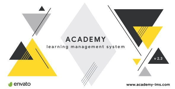 Download Academy v2.3 - Learning Management System Free / Nulled