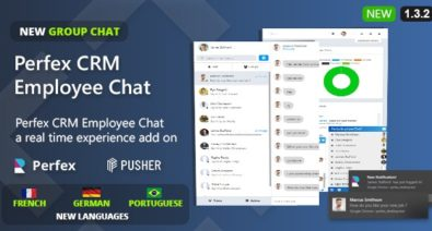 Download Perfex CRM v1.3.2 - Employee Chat Free / Nulled