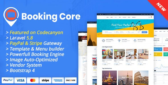 Download Booking Core v1.3.0 - Ultimate Booking System Free / Nulled