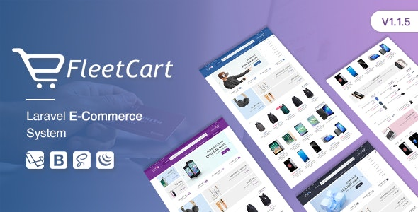 Download FleetCart v1.1.5 - Laravel Ecommerce System Free / Nulled