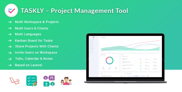 Download TASKLY v1.1 - Project Management Tool Free / Nulled