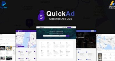 Download Quickad v8.3 - Classified Ads CMS PHP Script Free / Nulled