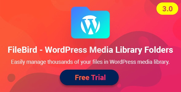 Download FileBird v3.1.2 - WordPress Media Library Folders Free / Nulled