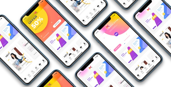 Download Ionic WooCommerce marketplace mobile app v2.7 - WCFM Marketplace Free / Nulled