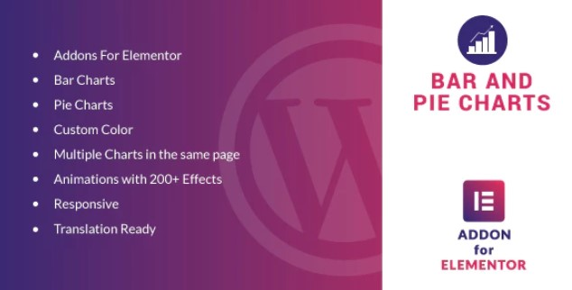 Download Bar and Pie Charts v1.0 - Elementor WordPress Plugin Free / Nulled