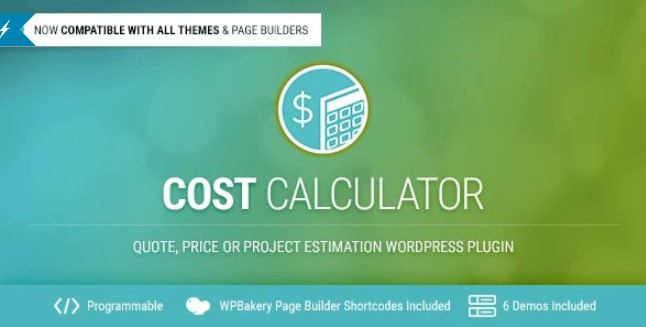 Download Cost Calculator v2.1.9 - Premium WordPress Plugin Free / Nulled