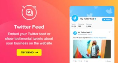 Download Twitter Feed v1.3.0 - Premium WordPress Twitter Plugin Free / Nulled