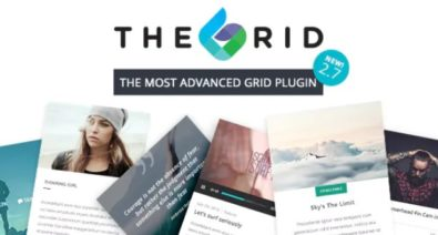Download The Grid v2.7.3 - Responsive WordPress Grid Plugin Free / Nulled