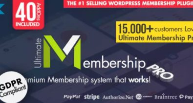 Download Ultimate Membership Pro v8.3 - WordPress Membership Plugin Free / Nulled