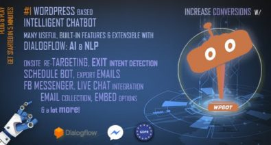 Download ChatBot v9.1.0 - for WordPress Free / Nulled