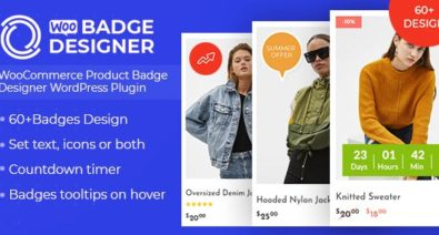 Download Woo Badge Designer v1.0.5 - WooCommerce Product Badge Designer WordPress Plugin Free / Nulled