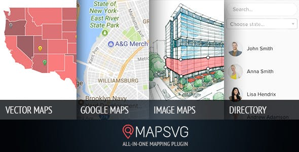 Download MapSVG v5.8.2 - The last WordPress map plugin you'll ever need Free / Nulled