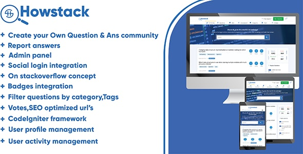 Download HowStack v1.0 - Questions And Answers Plateform Free / Nulled