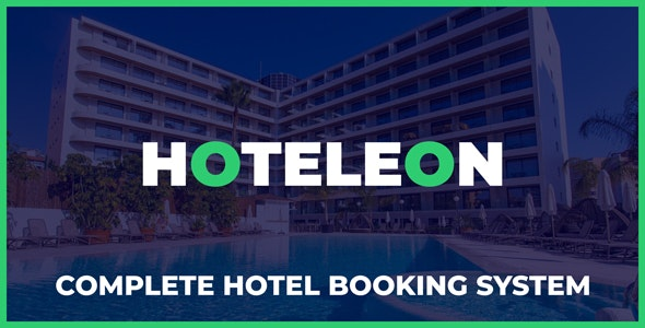 Download Hoteleon v1.0 - Complete Hotel Booking System Free / Nulled