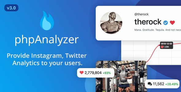 Download phpAnalyzer v3.0.1 - Social Media Analytics / Statistics Tool Free / Nulled