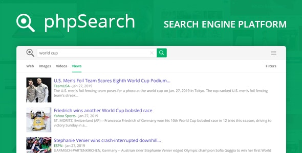 Download phpSearch v4.3.0 - Search Engine Platform Free / Nulled