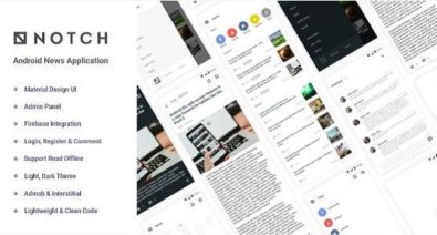 Download Notch v1.0 - Android News Application Free / Nulled
