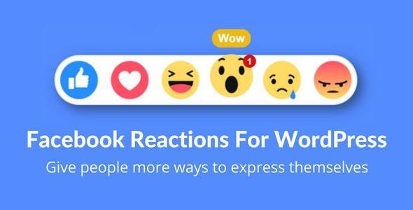 Download Facebook Reactions v2.1 - For WordPress Free / Nulled