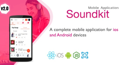 Download Soundkit v1.3.3 - Mobile Application for Ios and Android Free / Nulled