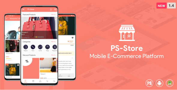 Download PS Store v1.4 - Mobile eCommerce App for Every Business Owner Free / Nulled