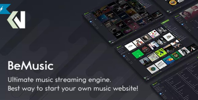Download BeMusic v2.3.6 - Music Streaming Engine PHP Script Free / Nulled