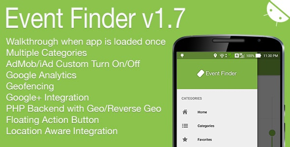 Download Event Finder v1.7 - Full Android Application Free / Nulled