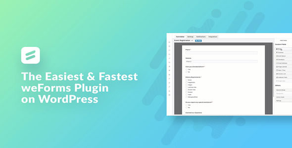 Download weForms v1.3.7 - Fastest Contact Form Plugin Free / Nulled
