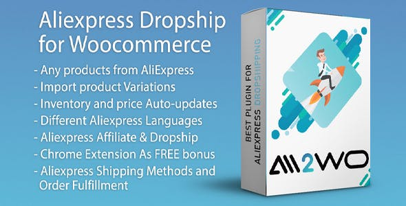 Download AliExpress Dropshipping v1.7.8 - Business plugin for WooCommerce Free / Nulled