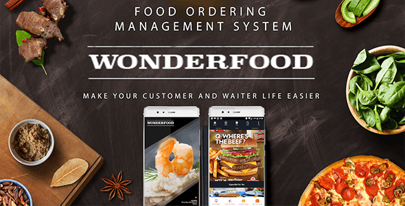 Download Wonderfood v1.0.0 - Food Ordering Management System Free / Nulled