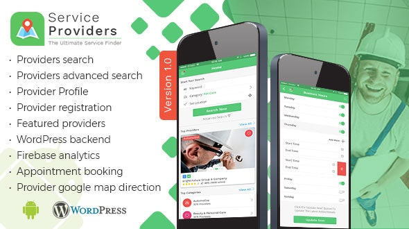 Download Listingo v8.0 - Service Providers, Business Finder Android Native App Free / Nulled