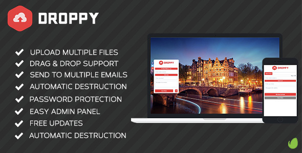 Download Droppy v2.1.3 - Online file sharing Free / Nulled
