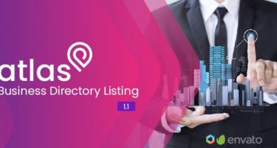 Download Atlas v1.1 - Business Directory Listing Free / Nulled