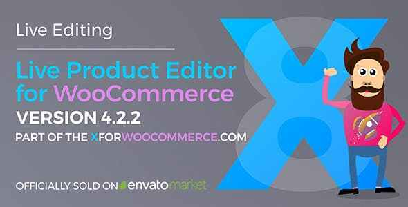 Download Live Product Editor v4.3.2 - for WooCommerce Free / Nulled