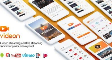 Download Videon v2.1.3 - A video streaming android app with admin panel Free / Nulled