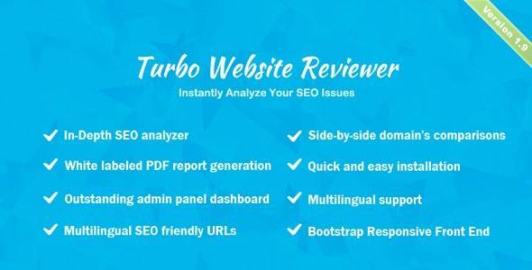 Download Turbo Website Reviewer v1.9 - In-depth SEO Analysis Tool Free / Nulled