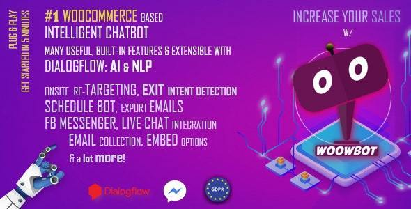 Download WoowBot v12.2.0 - Chat Bot for WooCommerce Free / Nulled