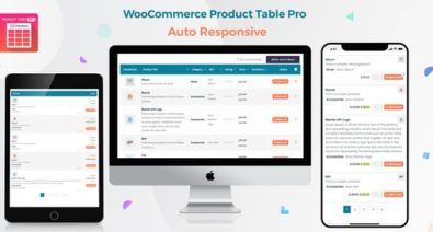 Download Woo Product Table Pro v5.4 - WooCommerce Product Table view solution Free / Nulled