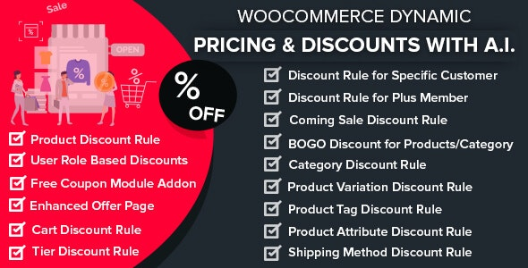 Download WooCommerce Dynamic v1.2.2 - Pricing & Discounts with AI Free / Nulled