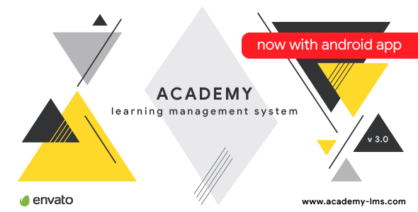 Download Academy v3.0 - Learning Management System Free / Nulled