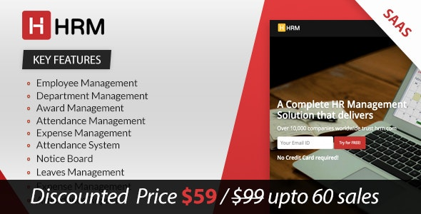 Download HRM SAAS v2.5.7 - Human Resource Management Free / Nulled