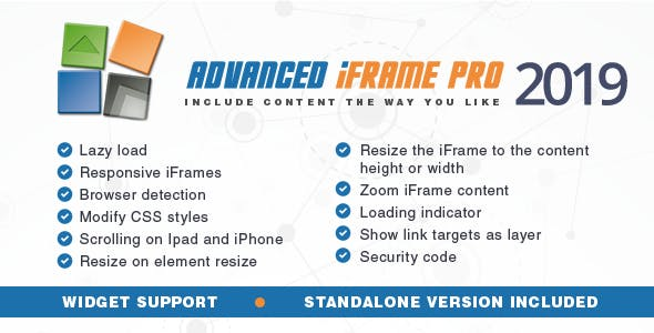 Download Advanced iFrame Pro v2019.8 - WP Plugin Free / Nulled