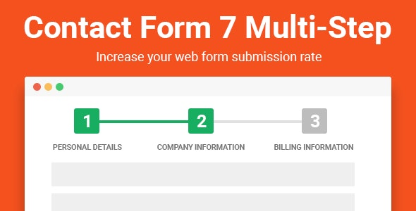 Download Contact Form Seven v2.3 - CF7 Multi-Step Pro Free / Nulled