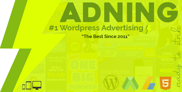 Download Adning Advertising v1.4.1 - All In One Ad Manager Free / Nulled