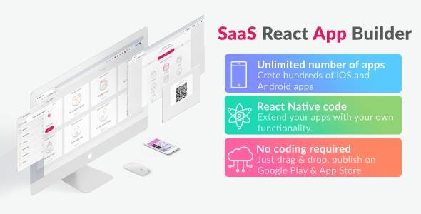 Download React App Builder v12.0.1 - Unlimited number of apps Free / Nulled